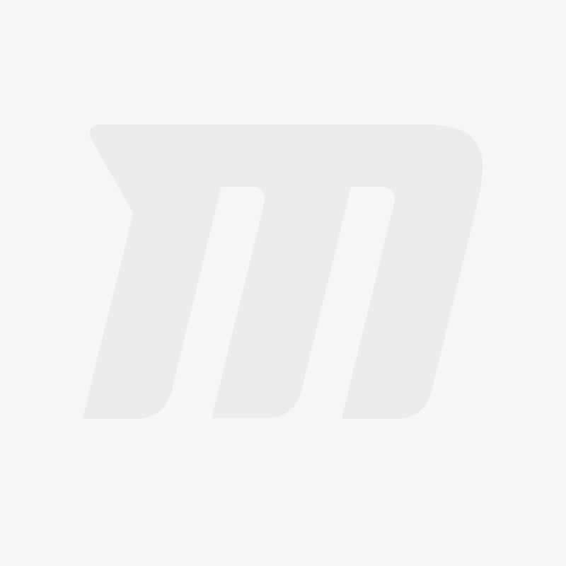 Motorbike Hard Saddlebag Set Craftride K3 33Ltr side case incl Mouting Brackets in black